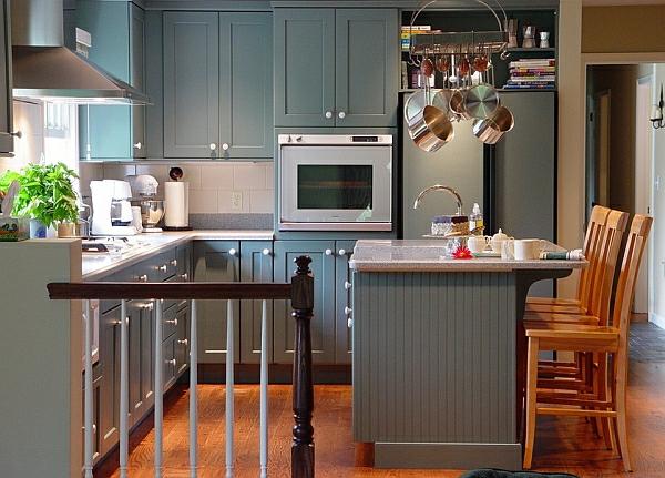 küche einrichten küchenschrank grau monoton farben haushalt möbel