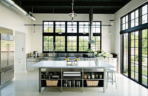 küche fenster Kücheneinrichtung und Küchenmöbel eisen küchenschrank