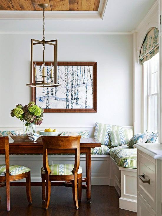 Küchen moderner landhausstil holz  50 moderne Landhausküchen - Küchenplanung und rustikale Küchenmöbel