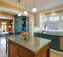 Küchenarbeitsplatten und die fünf best passenden Materialien