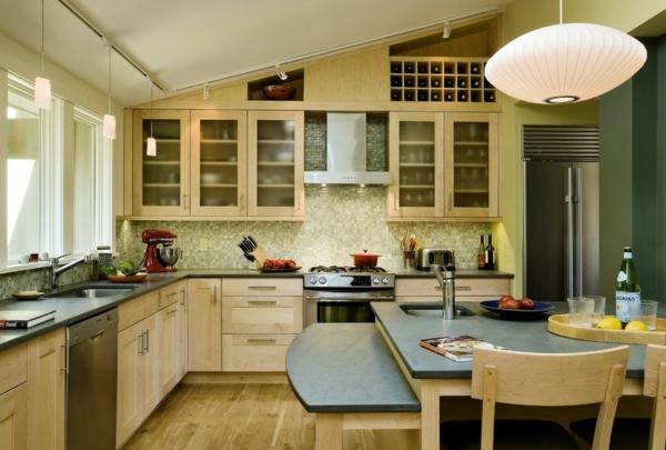 küchenarbeitsplatten granit oder zinn wohnideen küche