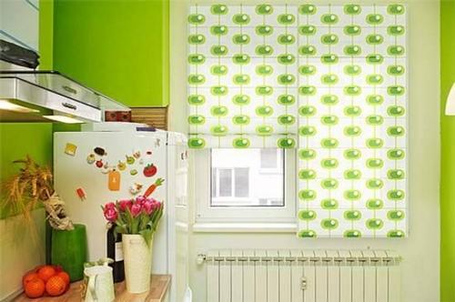 küchengardinen flächenvorhänge gemustert sonnenschutz küche einricheten