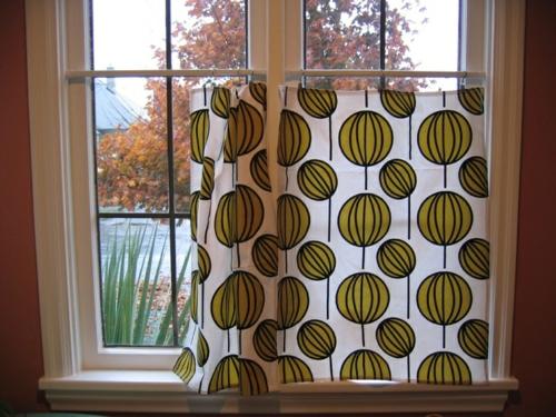 k chenvorh nge dienen als sonnenschutz und peppen ihre. Black Bedroom Furniture Sets. Home Design Ideas