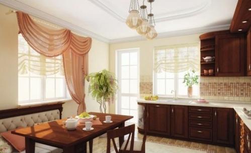 küchengardinen ideen küche gestalten ideen esszimmer wohnküche