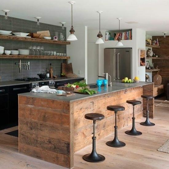 50 moderne landhausküchen   küchenplanung und rustikale küchenmöbel