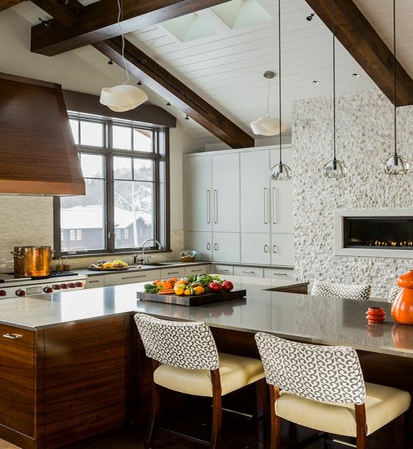 Industrieller Edelstahltisch möbel esstisch stühle küche