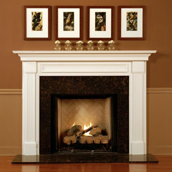 tolle ideen wie man den kamin dekorieren kann. Black Bedroom Furniture Sets. Home Design Ideas
