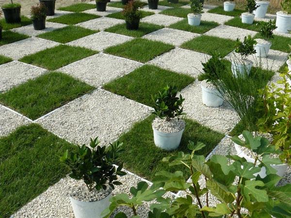 Garten modern kies  50 moderne Gartengestaltung Ideen
