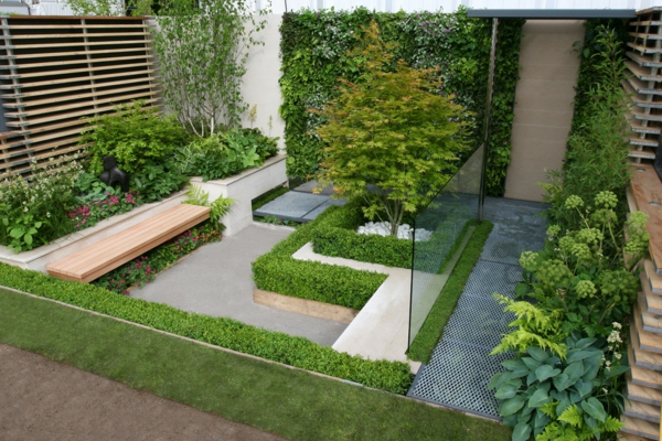 50 moderne gartengestaltung ideen for Garden design ideas short wide