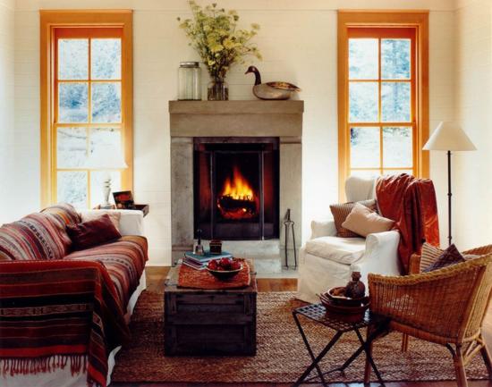 kleiner kamin rumford mehr wärme wohnzimmer