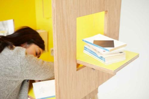 schreibtisch japanisch studio design bequem