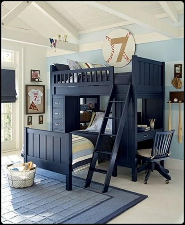 komfortabel kompakt jungenzimmer wohnideen