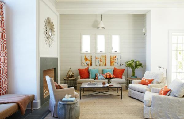 wandfarben frs wohnzimmer 100 trendy wohnideen fr ihre wandgestaltung wandfarbe - Wohnzimmer Wandgestaltung Farbe