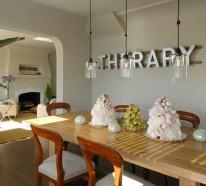 Wandgestaltung Esszimmer Ideen | Möbelideen, Wohnzimmer Design