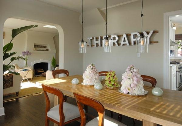 wandgestaltung esszimmer – usblife, Innenarchitektur ideen