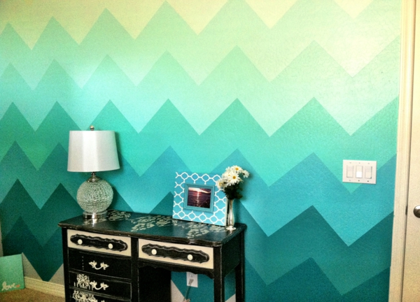 Bold Teal Walls A Handy How We Cut In Video Young House Love Teal ...