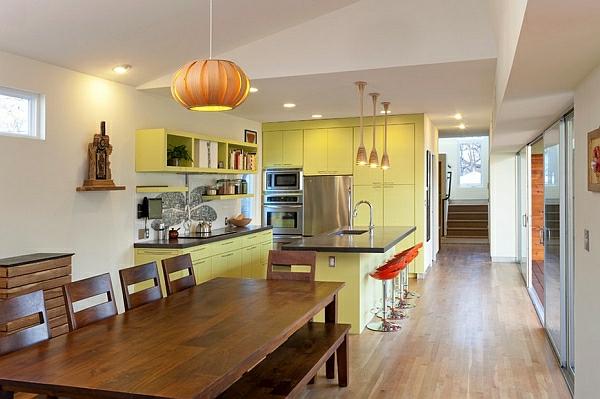 Licht Farben Für Küchenschränke Haushalt Möbel Holz Esstisch Stühle