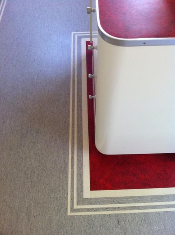 linoleum küchenarbeitsplatten granit arbeitsfläche materialien wohnideen
