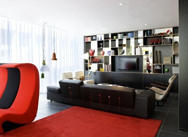 Bild Wohnzimmer Bunt : Teppich wohnzimmer bunt farbgestaltung sommerpalette