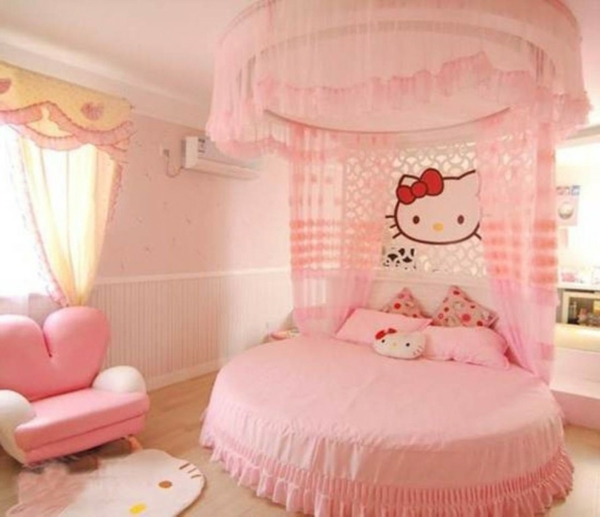 m dchenzimmer hello kitty gestalten tr umen und wohnen. Black Bedroom Furniture Sets. Home Design Ideas
