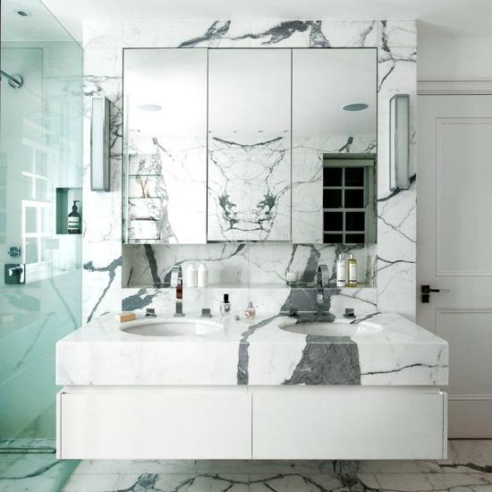 marmor oberflächen muster waschbecken spiegel