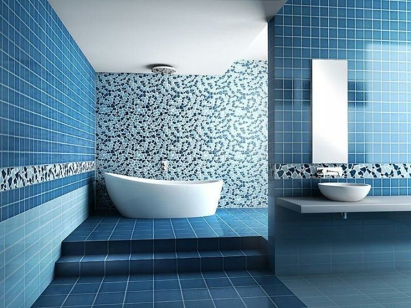 Fliesen Mosaik Bad Dekoration - Wohndesign -