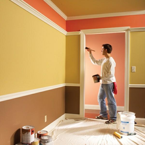 Fitnessraum wandgestaltung  20 Zimmerfarben Ideen für jeden Geschmack