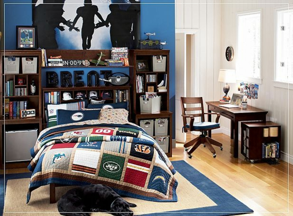 minimalist interior dekoideen jungenzimmer