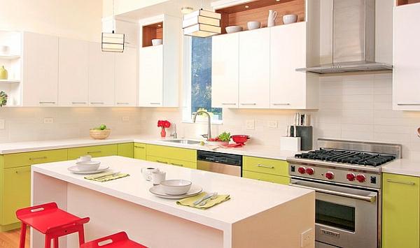 modern  küchenmöbel bunt look Kücheneinrichtung und Küchenmöbel