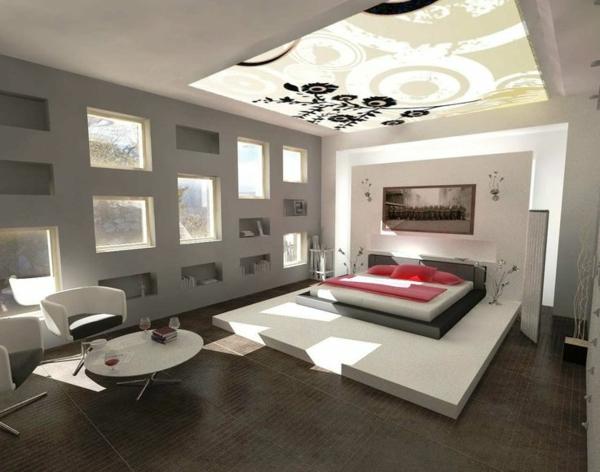modern schlafzimmer jungs decke