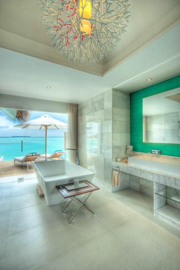 moderne architektur das badezimmer