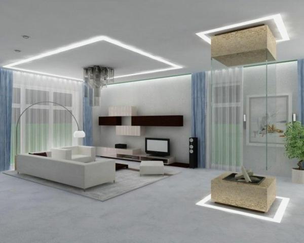 moderne gestaltung zimmer in weiß sofa