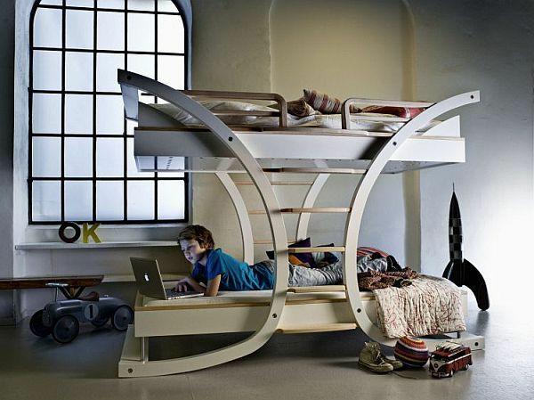 moderne jungenzimmer ideen stockbett