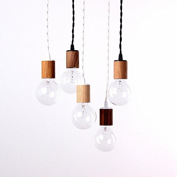 moderne lampen und leuchten hängeleuchten aus holz