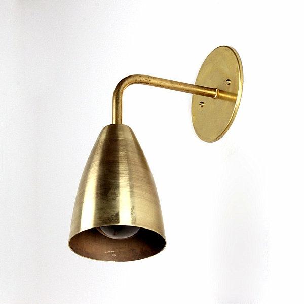 Moderne Lampen Und Leuchten Wandleuchter Messing