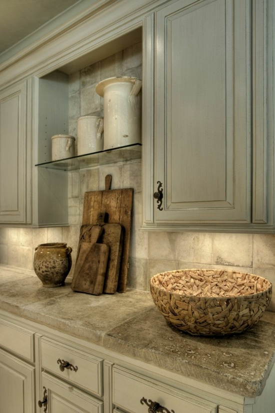 50 moderne Landhausküchen - Küchenplanung und rustikale Küchenmöbel | {Moderne landhausküchen 24}