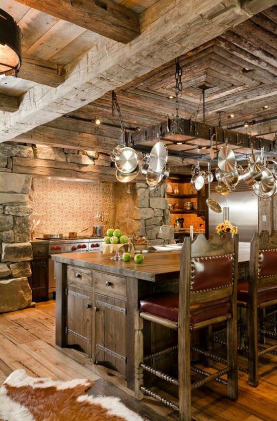 Rustikale Küchenschränke 50 moderne landhausküchen küchenplanung und rustikale küchenmöbel