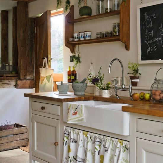 50 moderne Landhausküchen - Küchenplanung und rustikale Küchenmöbel | {Landhausküchen weiss modern 29}