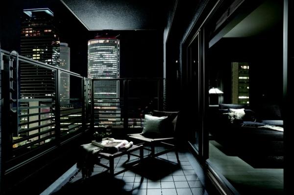 moderne terrasse gestalten panther zeitgenössisch design