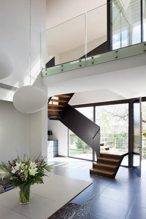 101 moderne treppen erscheinen als blickfang in ihrer wohnung, Wohnzimmer dekoo