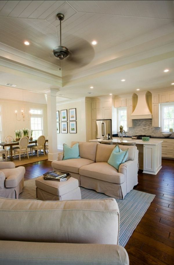 30 einrichtungsideen moderne wohnzimmer zu gestalten - Einrichtungsideen Wohnzimmer Esszimmer