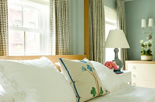 monochromatisch muster üblich schlafzimmer