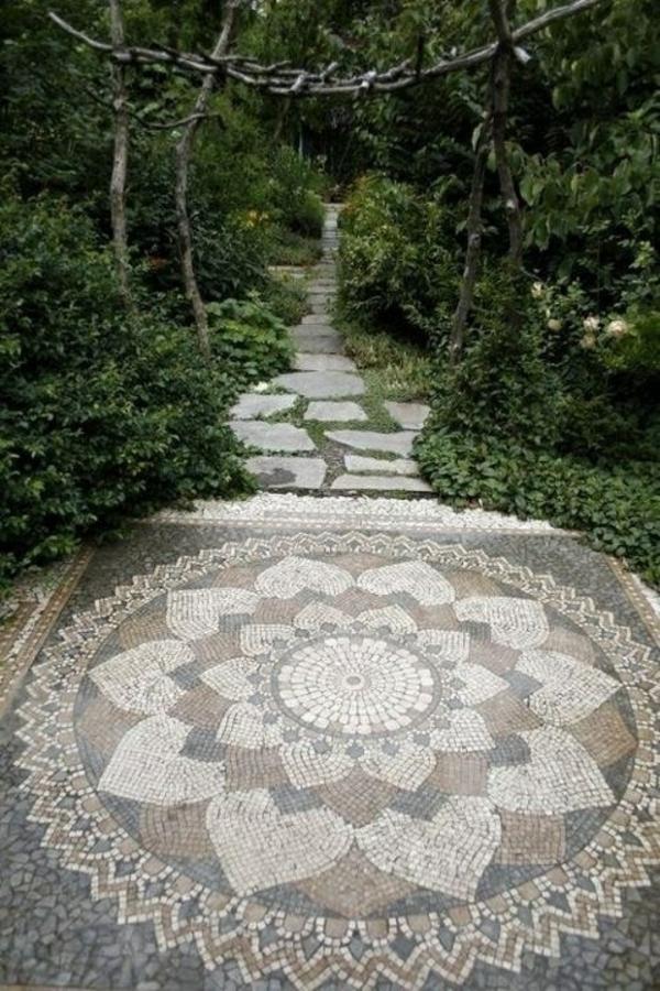 mosaik bodenbelag
