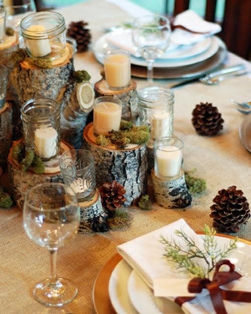 30 Coole Ideen F R Tischdeko Im Herbst Herbstdeko Basteln