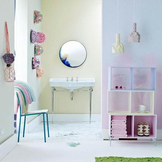 niedlich feminine badezimmer kompakt urban