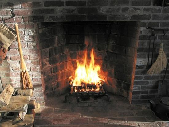 offener kamin nach rumford ziegelwände form mehr wärme