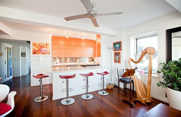 orange farben für küchenschränke weiß hintergrund holz bodenbelag