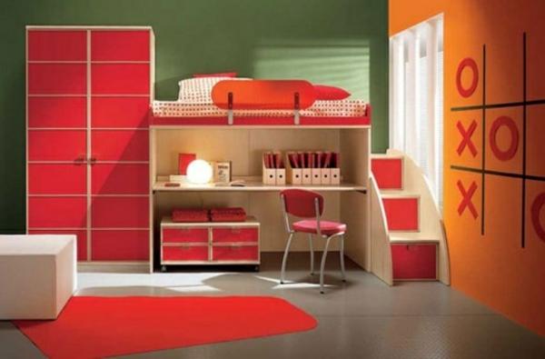 125 gro artige ideen zur kinderzimmergestaltung. Black Bedroom Furniture Sets. Home Design Ideas