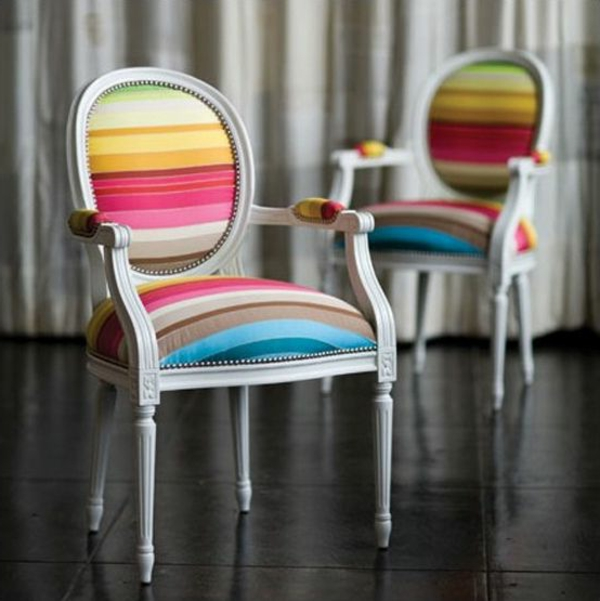 muster weich textilien bunte streifen Polstermöbel und Wohnlandschaft