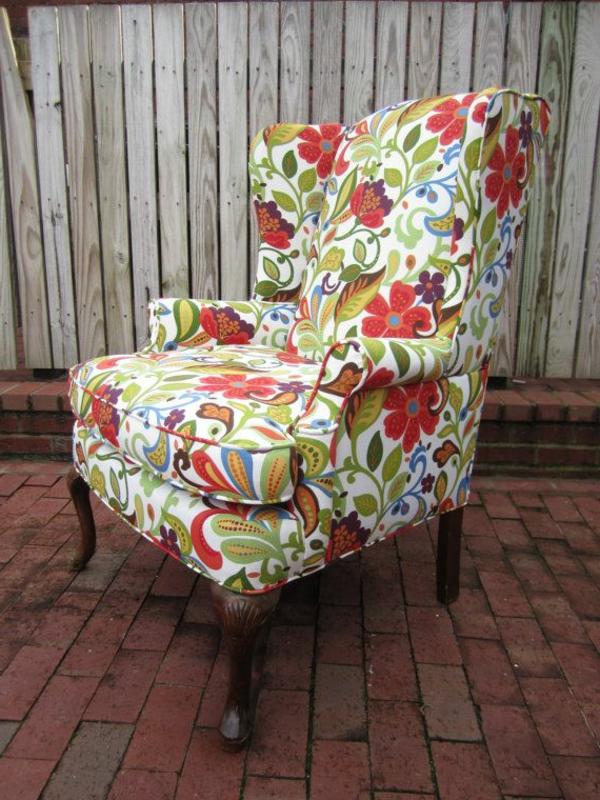 polstermöbel designs wohnen muster weich textilien rückenlehne sessel